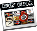 track your favorite concerts